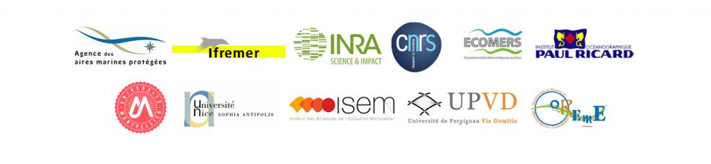 Logo partenaires scientifiques sentinelles