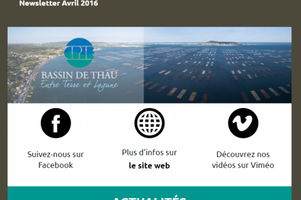 CPIE Bassin de Thau   Newsletter Avril 2016 test 6
